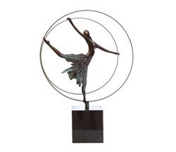 Elevation by Jennine Parker - Bronze Sculpture sized 15x19 inches. Available from Whitewall Galleries
